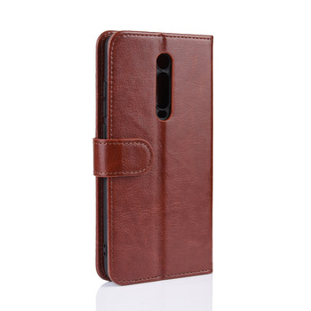 Mobile Phone Accessories Wholesale Wallet Leather Case Cover for redmi k20 pro Welcome OEM