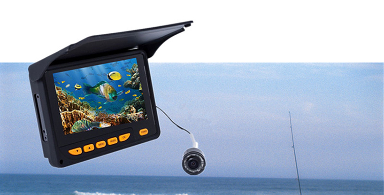 10pcs ir led remote controlled deeper sea ocean underwater fishing camera for sale