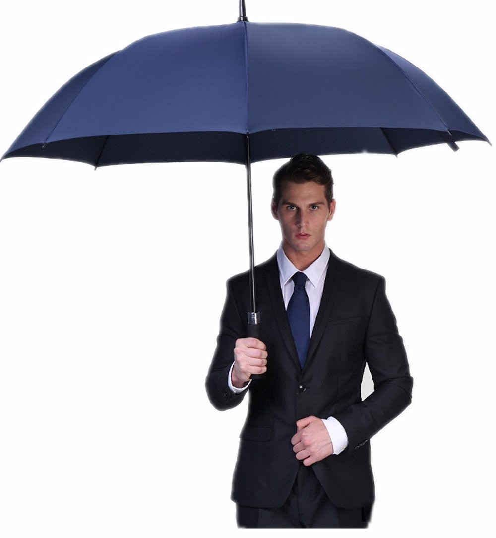 30 inch 8k logo printed golf umbrella for promotion umbrellas