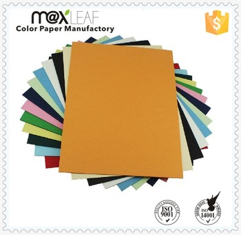 150gsm Blue Green Black A4 Size Colored Manila Cardboard Sheets ...