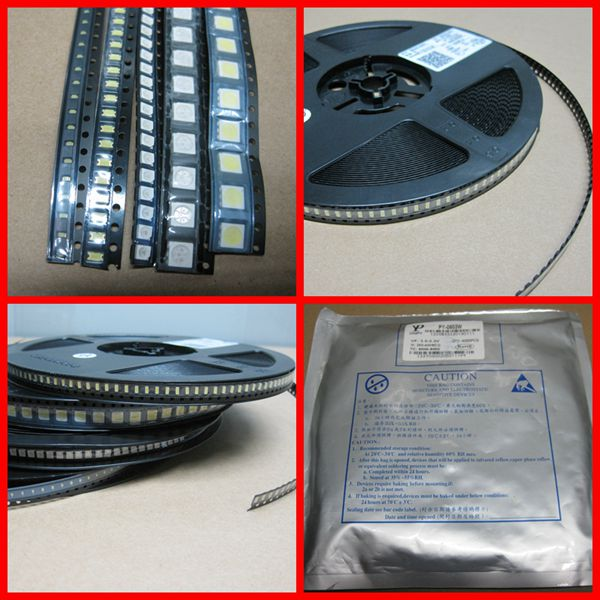 Haute lumen 5050 smd uv LED 365nm