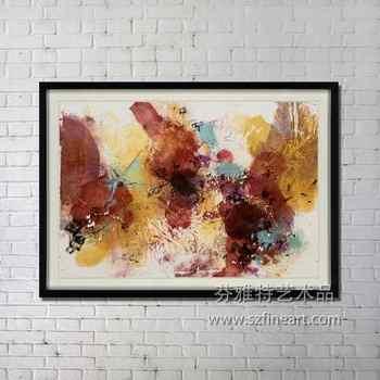 Einzigartiges Geschenk Abstrakte Malerei Moderne Kunst Buy