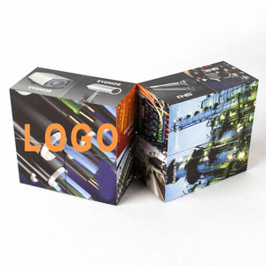 Promotional items jumbo qi wireless quick solution folding cubes