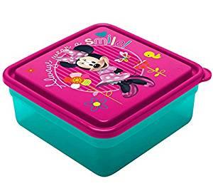 Disney Minnie Mouse Bow-tique 26 Oz. Chillpak Sandwich Container