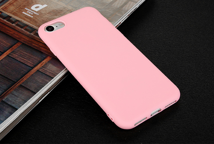 Simple colorful TPU for iphone case i6/6p/i7/7p