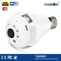 tech view ip camera hd cmos sensor panoramic fisheye 360 degree Hidden Camera wireless recordable security cameras