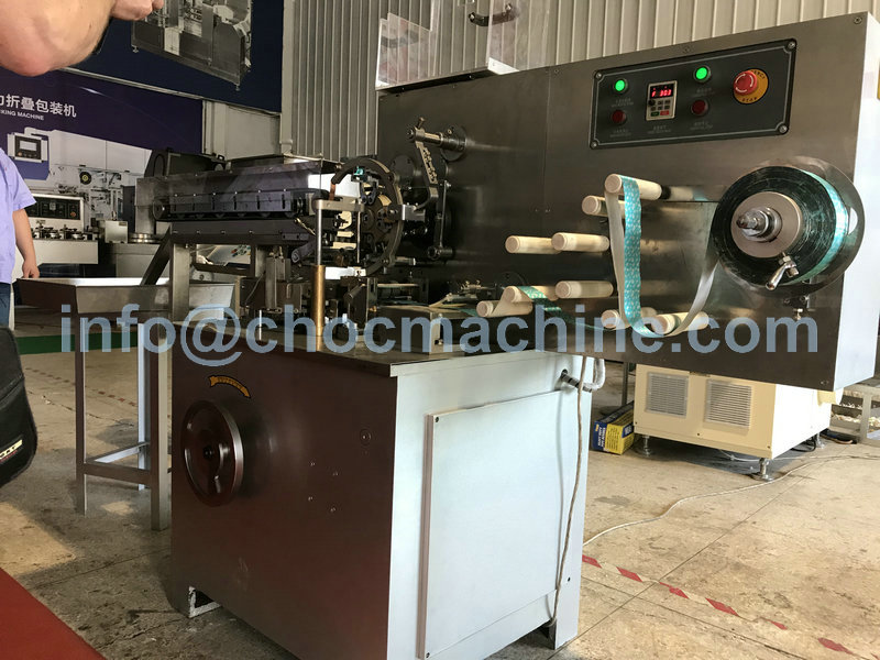 chocolate folding machine