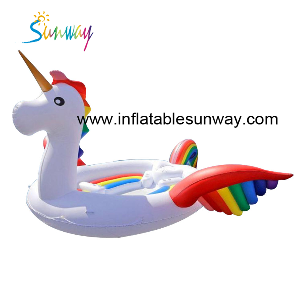 Giant inflatable water float, inflatable unicorn flamingo