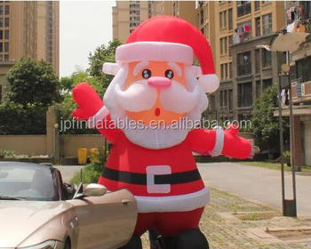 Christmas Inflatable Santa Claus, Christmas Decoration Led Inflatable Santa  Claus ,xmas Santa Yard Outdoor