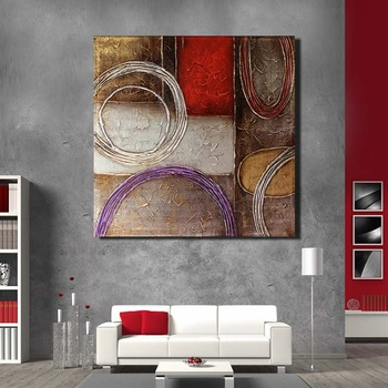 Living Room Decoration Modern Abstract Canvas Painting Hotel Wall ...