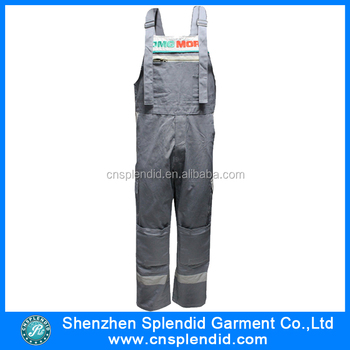 33ea61b16ed new design working bib pants with oxford kneepad with good · View larger  image