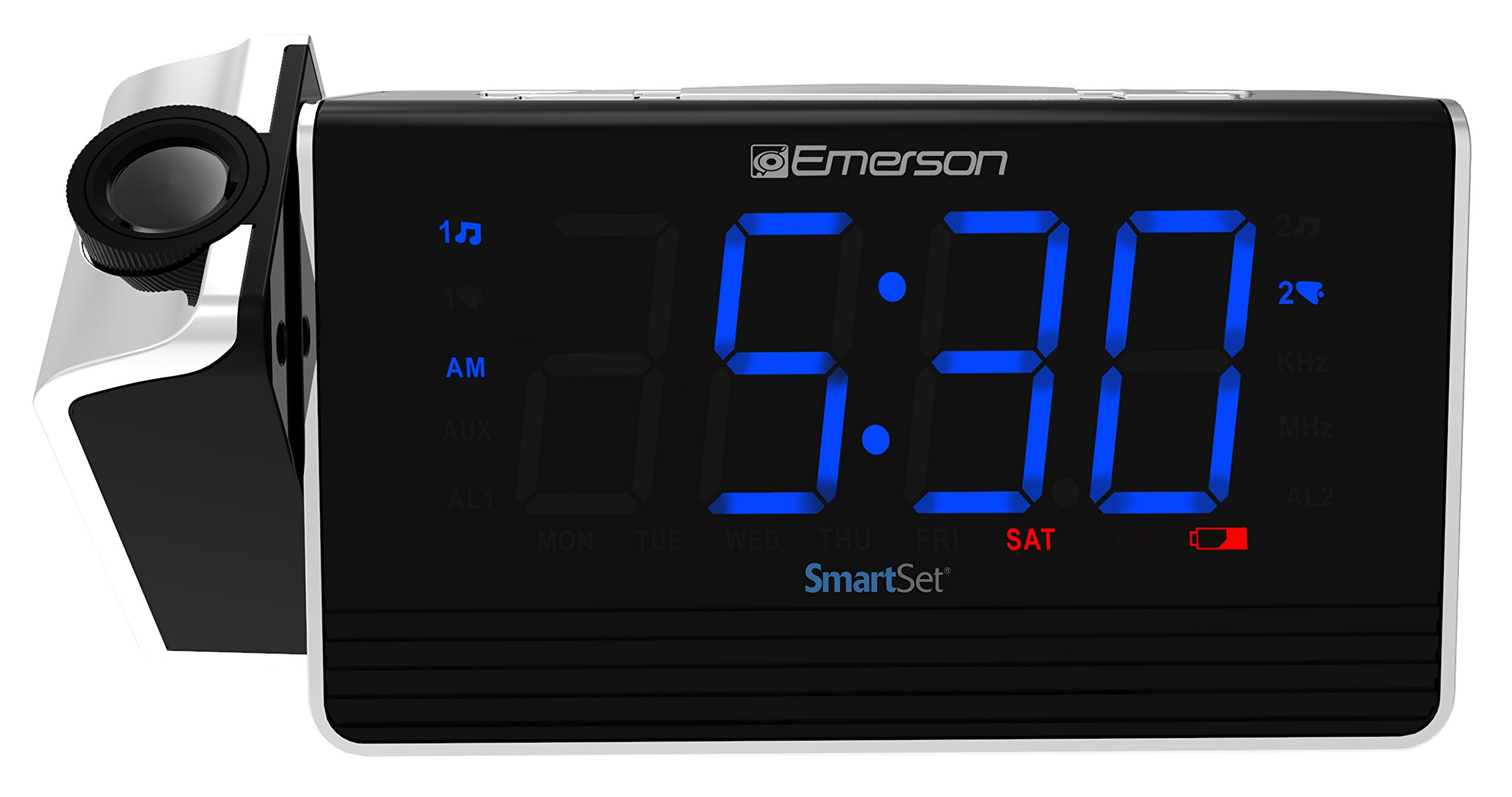 Cheap Emerson Smartset Clock Radio Find Kit Digital Fm Display Frequensi Counter Untuk Tuner Get Quotations Projection Alarm With Usb Charging For Iphone Ipad Ipod