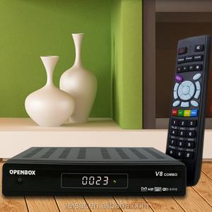 Original Openbox V8 Pro Satellite Receiver DVB-S2+DVB-T2 Upgrade from  Openbox V8 Combo