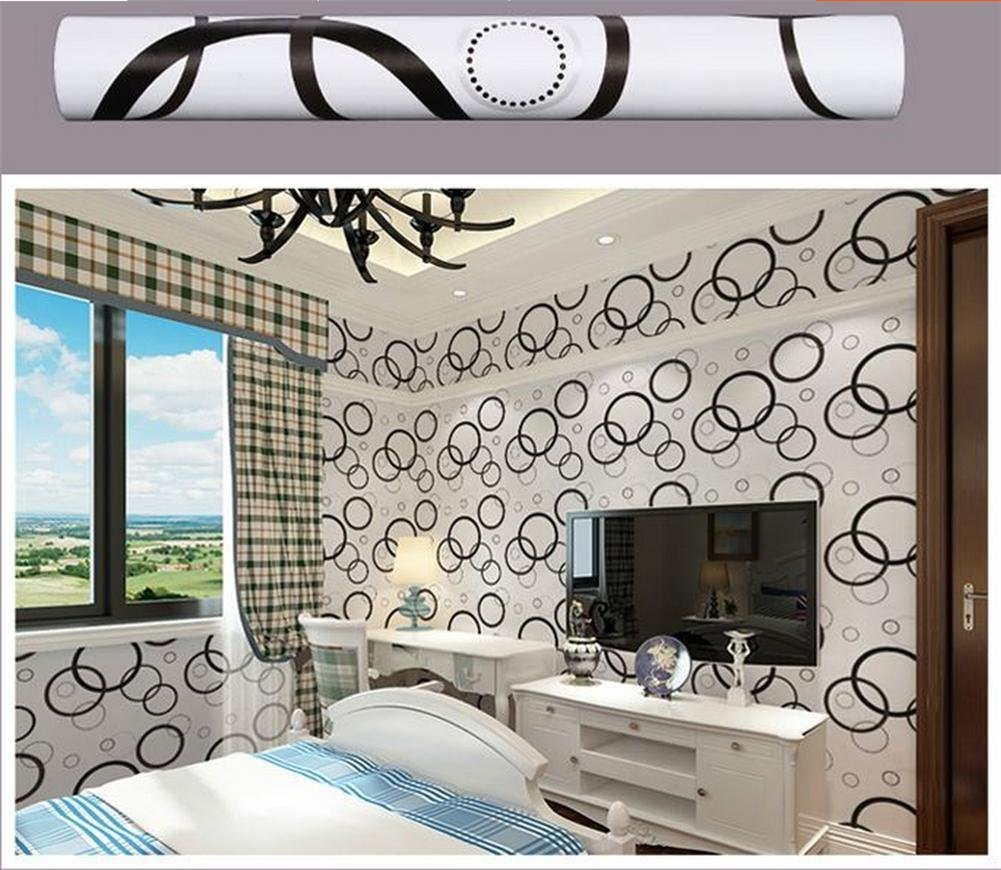 Cheap Black And White Wallpaper Bedroom, find Black And ...
