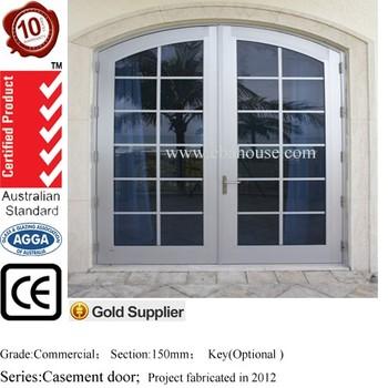 Eba Aluminium Door Aluminium Double Glazing Entry Door Exterior