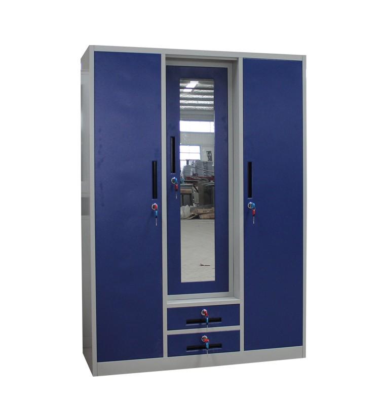 3 Door Steel Clothes Storage Bedroom Almirah Design Buy