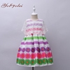 Fashion Floral Party Dress For 2-8 Year Old, New Babygirl Dress