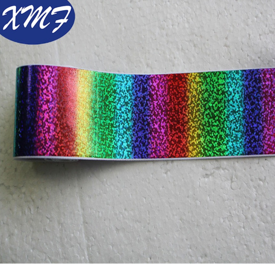 New holographic Rainbow Color Laser Foil Printing Ribbon