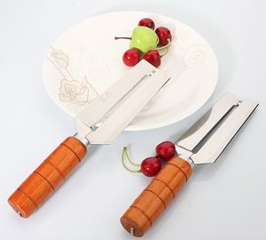 Economic Stainless Steel Sugar Cane Knife with wood handle