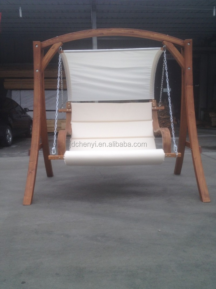 3 seater wooden swing/Garden swing chair 3 seater/Garden swing bench-3 seater--ODF101