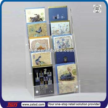 Tsd a507 countertop acrylic greeting card display standgreeting tsd a507 countertop acrylic greeting card display standgreeting card table standacrylic m4hsunfo