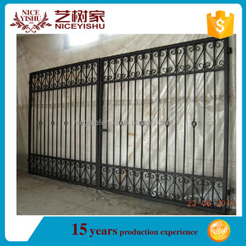 China 2016 Top Sale Indian House Main Gate Designs/steel Gate ...
