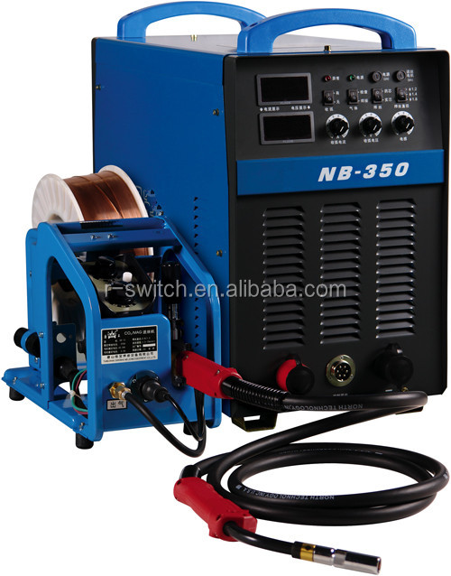 NB-350P double pulse mig mag welding machine/automatic welding machine