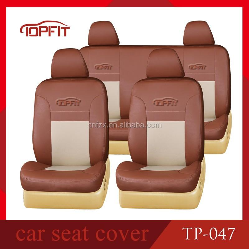 Car Seat Cover/unique Design Pvc Pu Velvet Genuine Leather Car ...