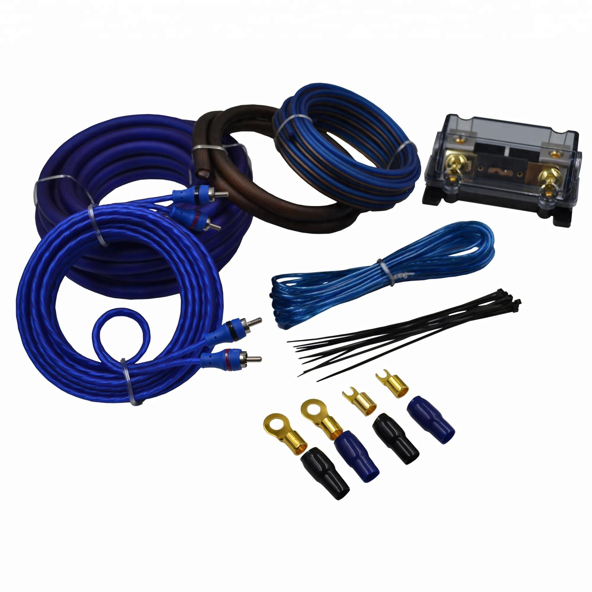 High Quality Audiophile 4ga Car Amplifier Wiring Kit - Buy Car Amplifier on