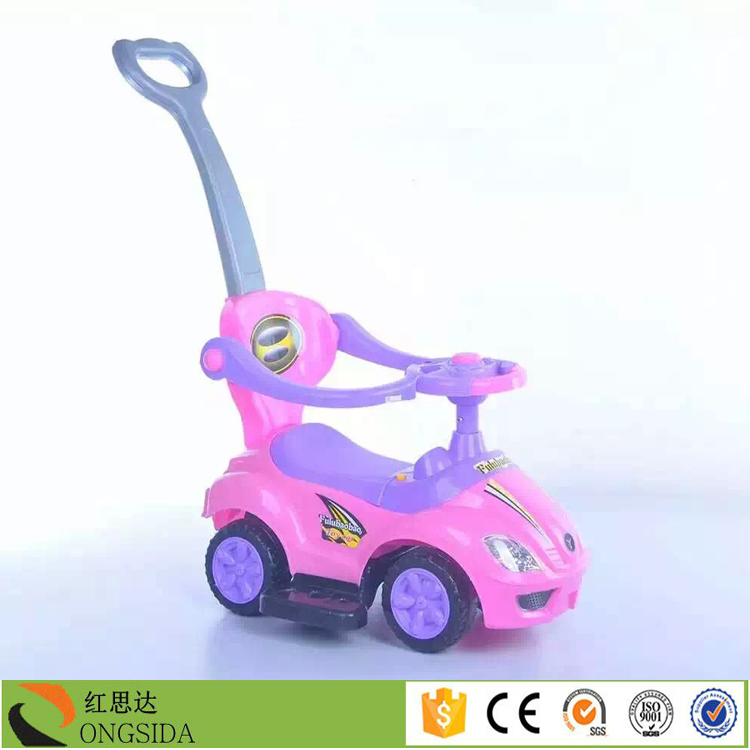 2017 Hot sale ride on toy car adult push sliding car for kids toy sliding car