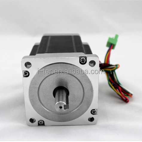 high torque 48v dc stepper motor nema 34/hybrid synchronous nema 34 stepper motor/2 phase high speed Leadshine stepper motor