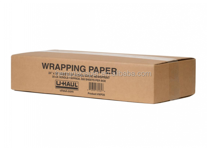 Newsprint Wrapping Paper