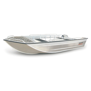 Manufacturer of welded aluminum boat fishing canoe
