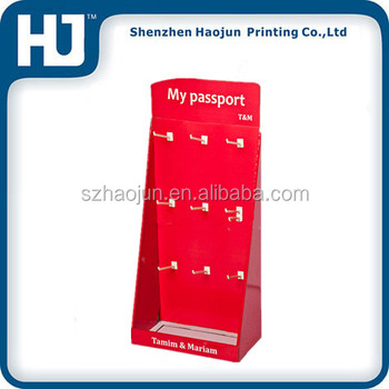 Shop Peg Hook Counter Display / Key Ring Display Stand/custom ...