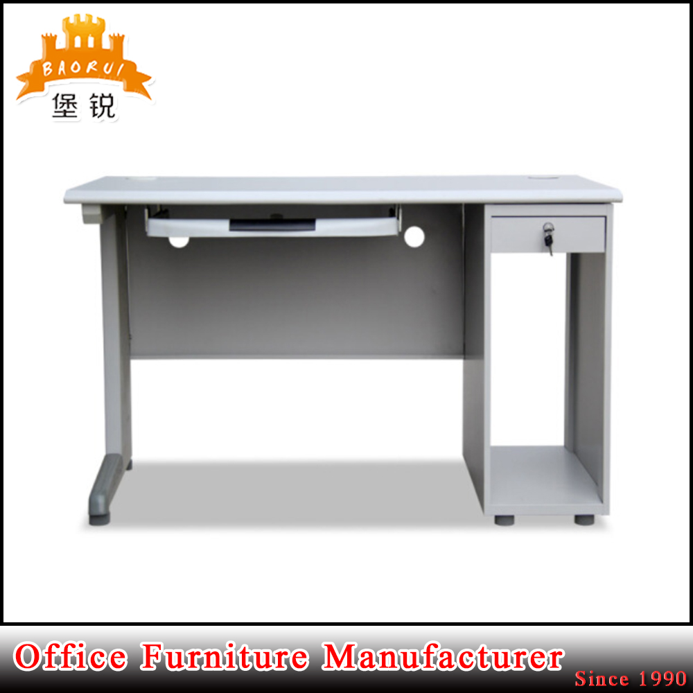 Computer table models with prices - Bas 048 Latest Deisgn Cheap Price School Office Metal Study Cum Computer Table Models