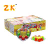 10 in 1 healthy fruit and heart shaped flavour jelly cube candy