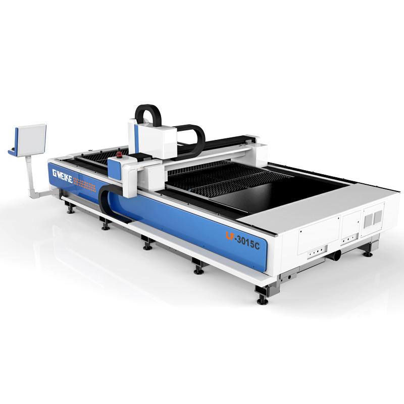 4000w  carbon steel fiber laser cutting machine for  factory