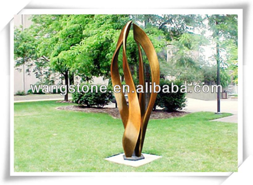 gartendekoration helle farbe edelstahl-skulptur-metall, Haus und garten