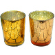wedding products rose gold candle holder glass votive with gold