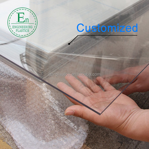 Super clear solid PC sheet uv stabilized polycarbonate panel