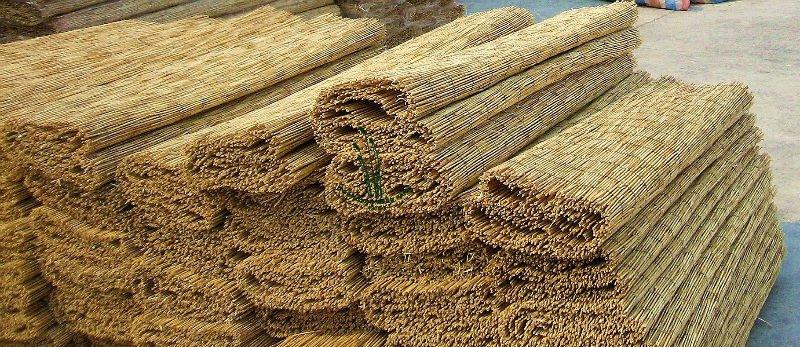 Estilo De Bambu Cana Grama Esteiras Cercas Treli 231 As E