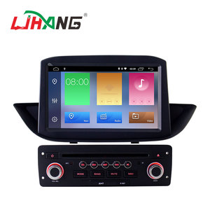 Touch screen android 9.0 2+16g car radio dvd player for peugeot 308 with steering wheel control