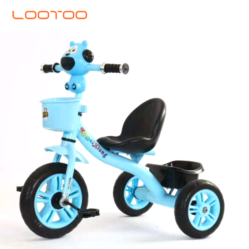 China factory wholesale new model EVA tire kids 3 wheeler tricycle