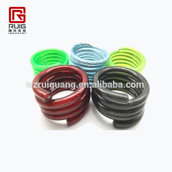 Spring Cable/pvc Coated Spring Wire Stainless Steel Cable - Buy Pvc ...