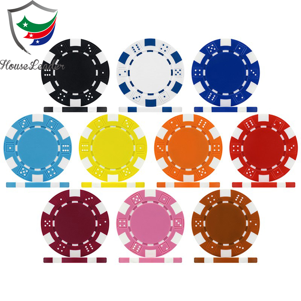 500 stuk King's Casino poker chip set met custom decals