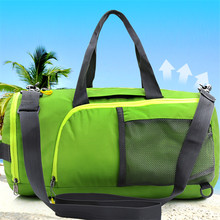Gym sport rolling tote cute travel extra big duffle outdoor leisure pack travel bag weekend rolling bag