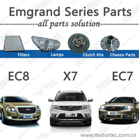 Original Auto Spare Parts for GEELY Emgrand EC7 EC8 X7 car