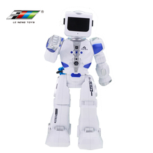 Factory wholesale battery operated rc intelligent fighting toy autonomous robot