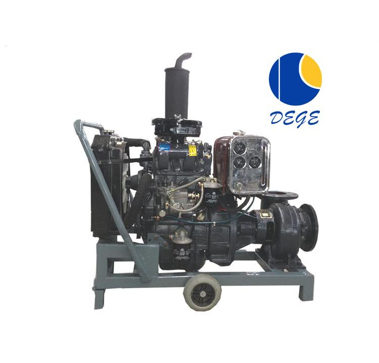 Professional manufacture portable diesel engine water pump set