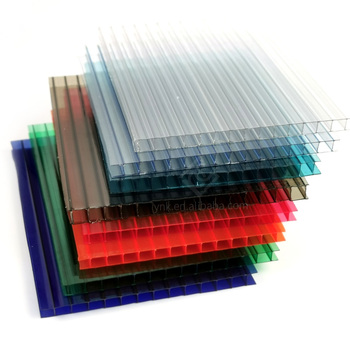 2.1 x 5.8m PC sheet transparent Eco-friendly polycarbonate plastic panels for constructions roofing greenhouses skylights